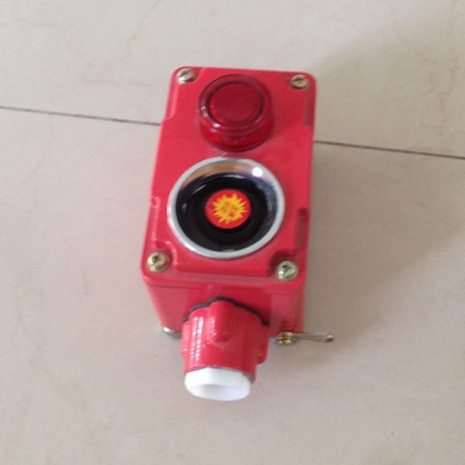 Cast Aluminum Explosion Proof Switch ,  380V / 220V Fire Emergency Alarm Switch