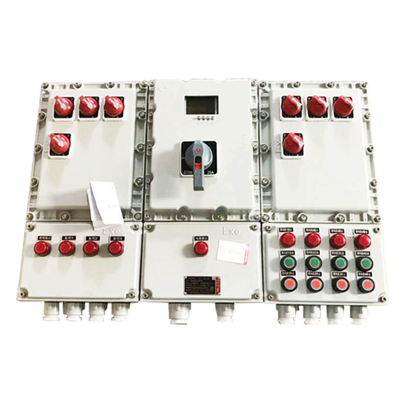 BXD Series Explosion Proof Panel For Zone 1 / 2 Area Cast Aluminum Available