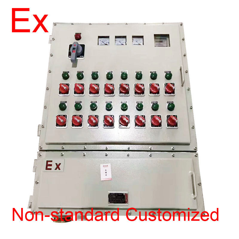 Non - Standard Explosion Proof Panel , Electrical Distribution Box With Window