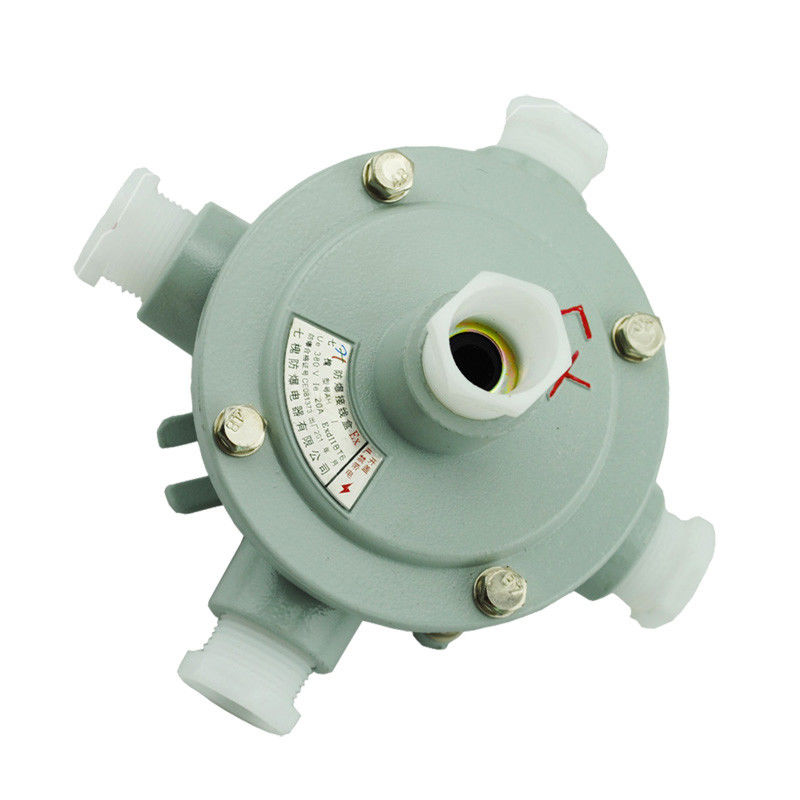 Round Cast Aluminum Explosion Proof Junction Box Exd Zone 2 IP65