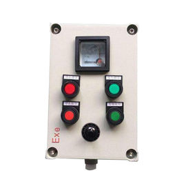 Aluminum Alloy Explosion Proof Control Station With Push Button AC 220V / 380V